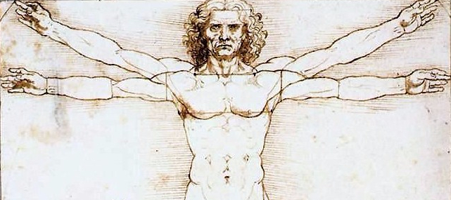 Da Vinci's Sketch of Man